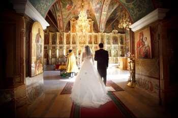 Подготовка к венчанию