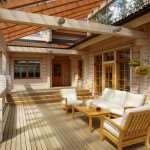 Дизайн дома из клееного бруса