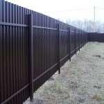Заказывайте забор из профнастила в компании Комбинат Заборов №8