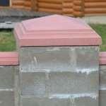 Преимущества колпаков из бетона