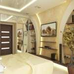 Отделка гипсокартоном в современных квартирах и домах