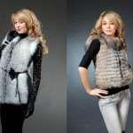 Женские жилетки из песца – с какой одеждой лучше сочетать