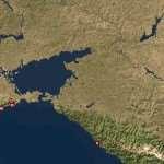 Все объекты и здания на карте Краснодарского края со спутника
