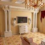 Преображение дома или квартиры с помощью лепнины