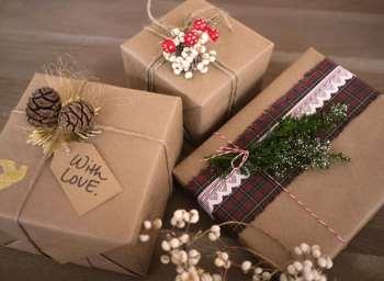 Какой бывает картонная упаковка для новогоднего подарка