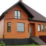 Оперативное возведение загородных домов из кирпича