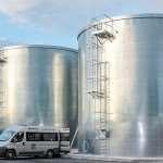 Быстрый монтаж вертикальных резервуаров