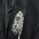 """Брошь """"Eternal I"""" - украшение для экстравагантных дам"""