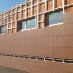 Как оформить вентилированный фасад керамогранитом