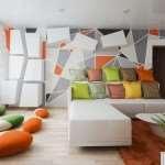 Геометрические формы в декоре интерьера
