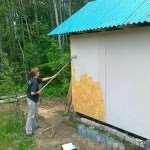 Что нужно для того, чтобы покрасить плиту OSB