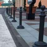 Тротуарные столбики как неотъемлемая часть городского облика