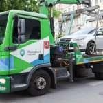 Зеленый эвакуатор Москвы