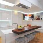 Стильный интерьер на современной кухне