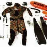Из чего состоит снаряжение для подводной охоты