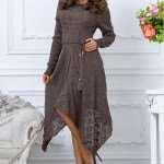 Вязаные платья – максимальный комфорт и изысканность