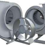 Виды и применение современных промышленных вентиляторов