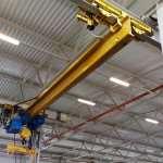 Эффективность и удобство работы на мостовом однобалочном подвесном кране