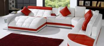 Кожаные модульные диваны — качественная обивка вкупе с высокой прочностью
