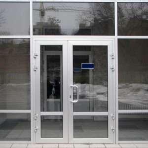 Теплые алюминиевые двери от компании «ДефиОкна»