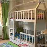 Прочные детские кроватки с современным стилем