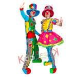 Проведение детских праздников аниматорами в роли клоунов