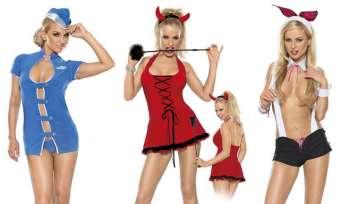 Применение эротического костюма для ролевых игр