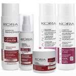 Серия продуктов бренда KORA для ухода за волосами
