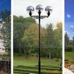 Парковые опоры от современной профильной компании