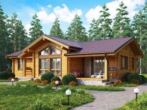 Строительство дома из клееного бруса: вызывать ли спецов?