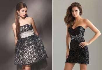 Кто может носить мини-платья?