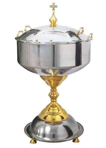 Купель для крещения — издревле применяющийся сосуд