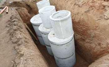 Чистый источник – септик из бетонных колец