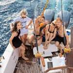 Фотосессия на яхте — совмещение отдыха и съемки