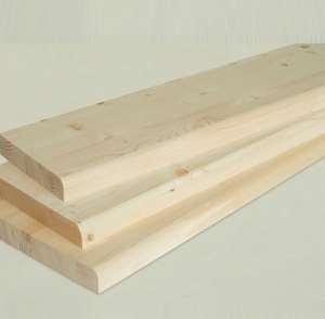 Деревянные качественные ступени для лестниц