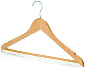 Плечики деревянные для одежды — лучшая экологичность